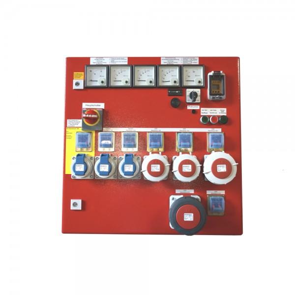 Schaltschrank DIN14686 30kVA, DIN-Form: AA, rot +1xCEE63A