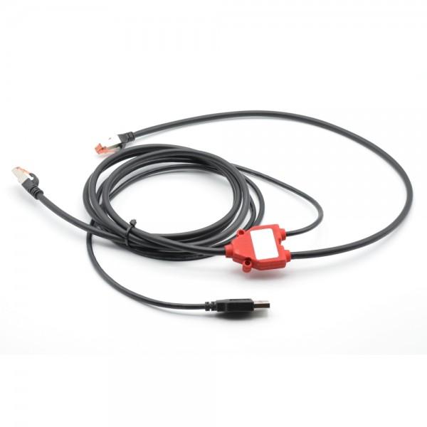 Data Cable RJ45 mit POE Spannungsversorgung über USB