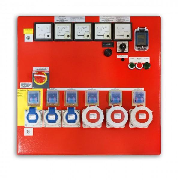 Schaltschrank DIN 14686 23kVA, DIN-Form: AA, rot
